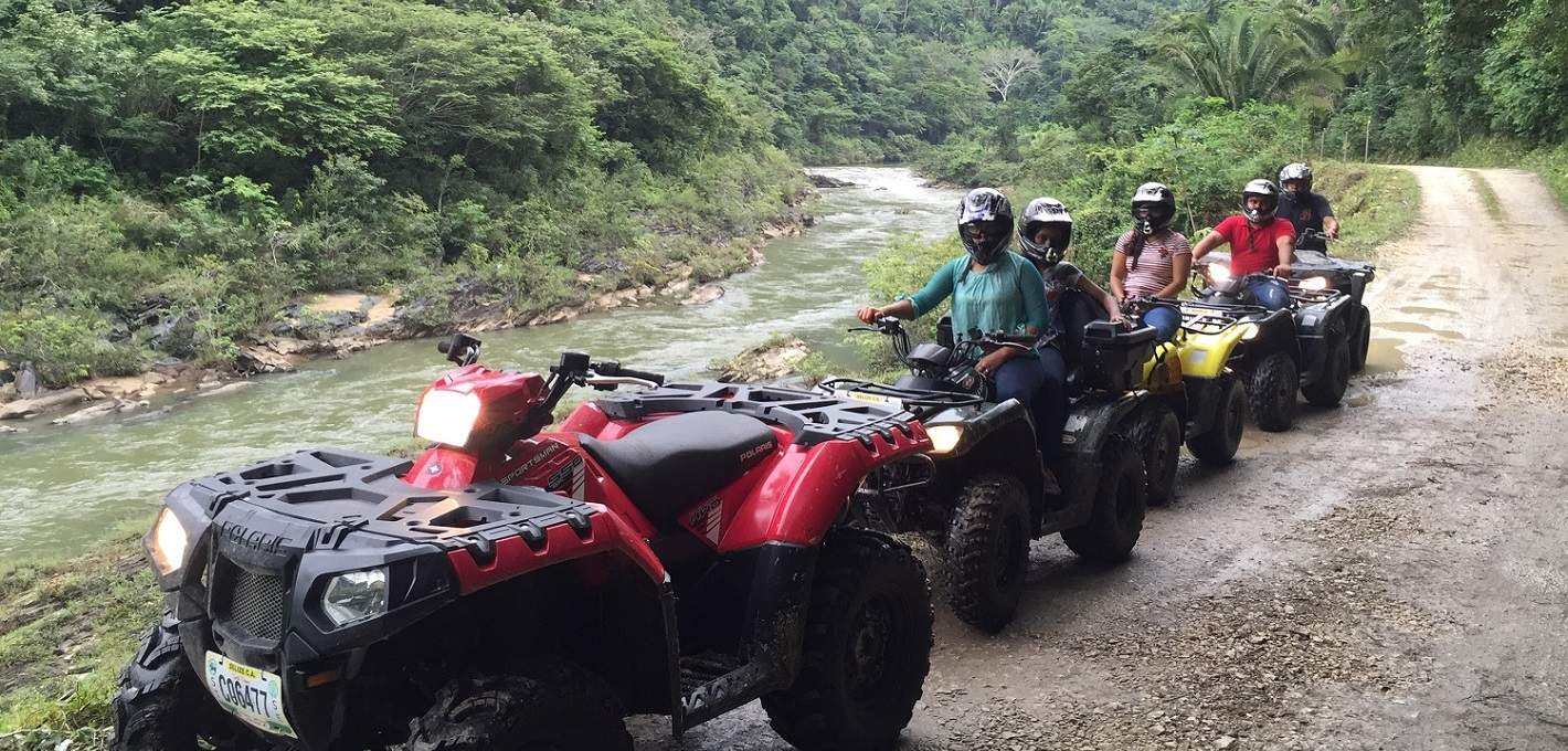 ATV Jungle/Mayan Ruins Adventure